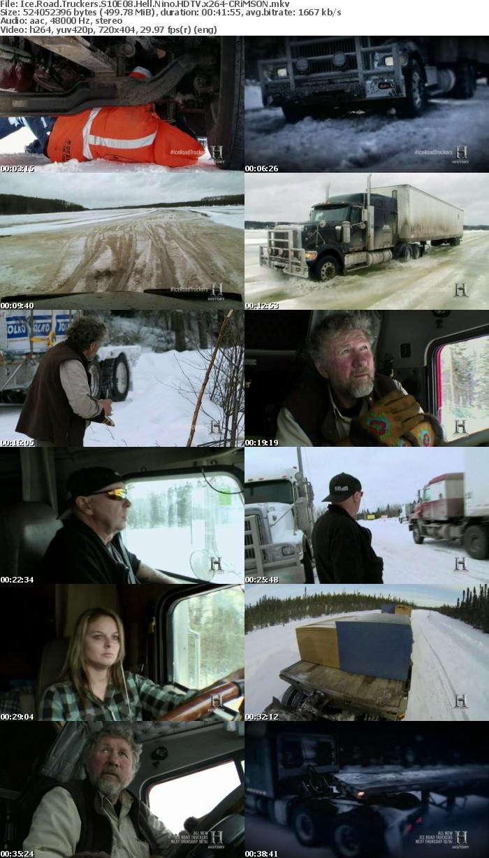 Ice Road Truckers S10E08 Hell Nino HDTV x264-CRiMSON