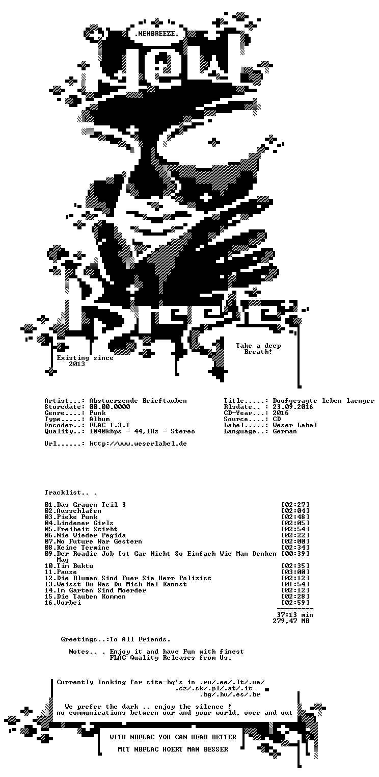 Abstuerzende Brieftauben-Doofgesagte Leben Laenger-DE-CD-FLAC-2016-NBFLAC