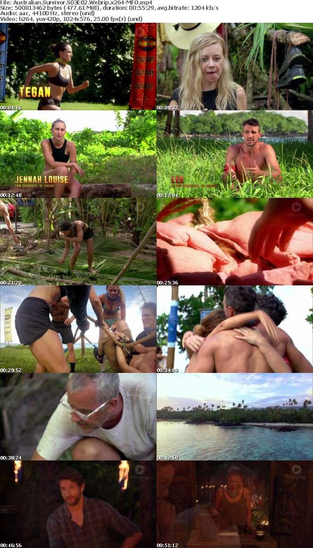 Australian Survivor S03E02 Webrip x264 MFO