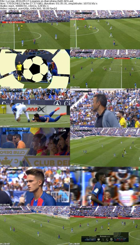 La Liga 2016 09 17 Leganes vs Barcelona XviD-AFG
