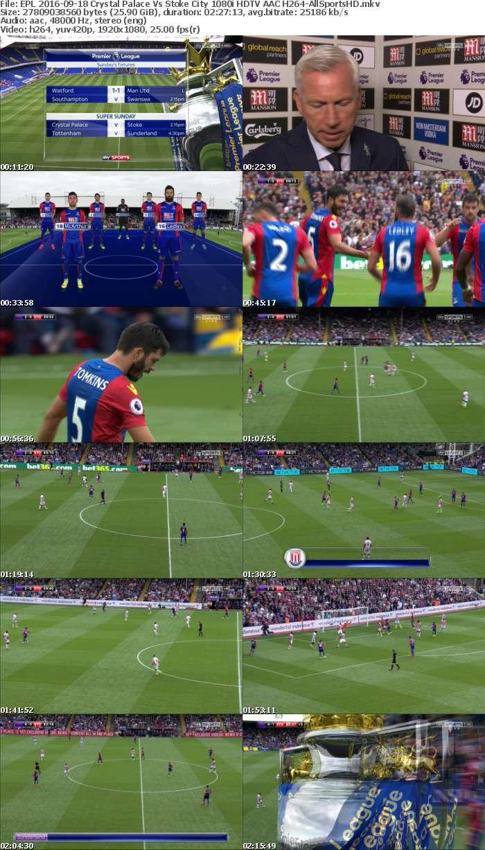 EPL 2016-09-18 Crystal Palace Vs Stoke City 1080i HDTV AAC H264-AllSportsHD