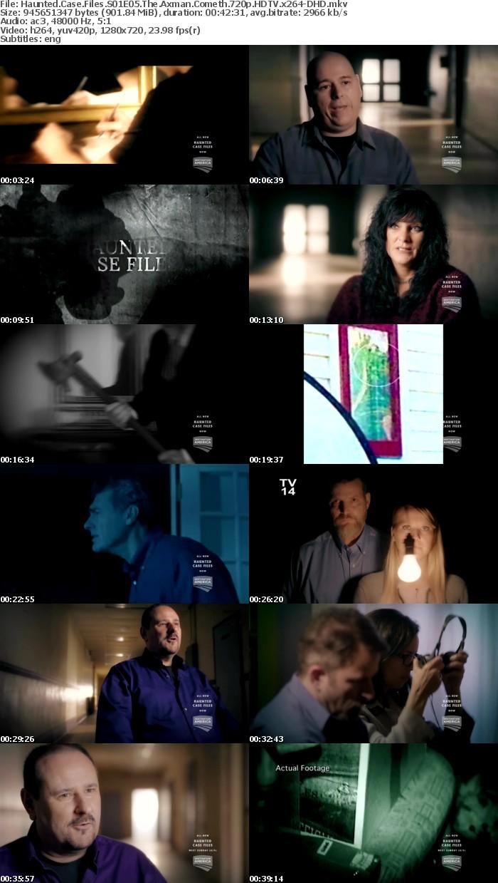 Haunted Case Files S01E05 The Axman Cometh 720p HDTV x264-DHD