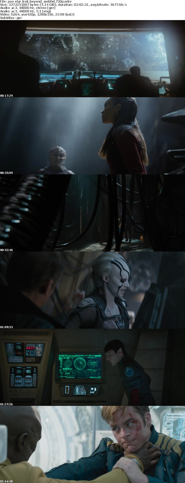 Star Trek Beyond German DL AC3 Dubbed 720p WebHD h264-PsO