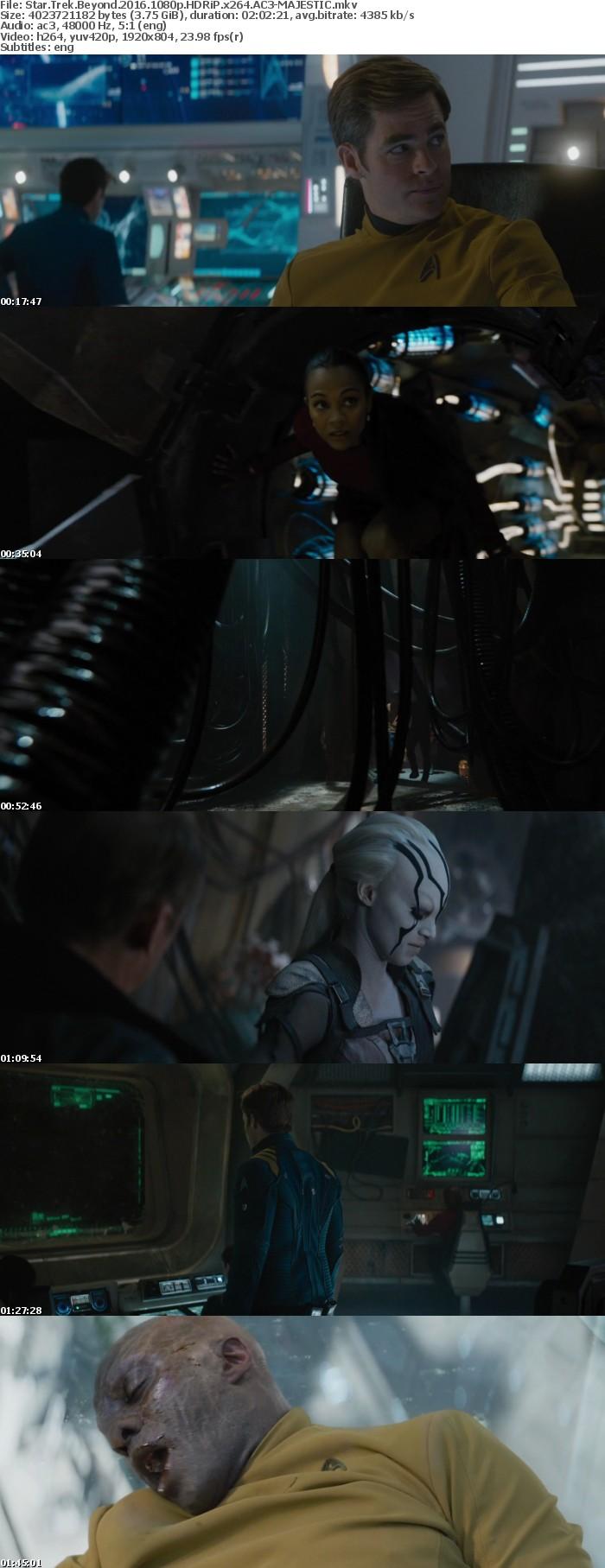 Star Trek Beyond 2016 1080p HDRiP x264 AC3-MAJESTIC