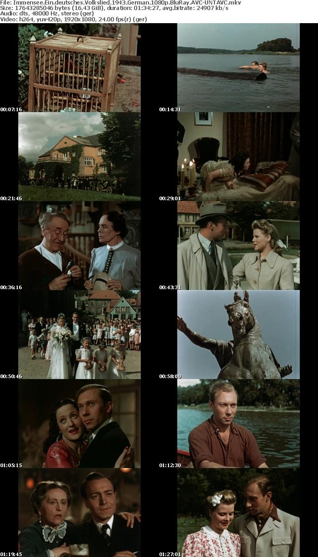 Immensee Ein deutsches Volkslied 1943 German 1080p BluRay AVC-UNTAVC