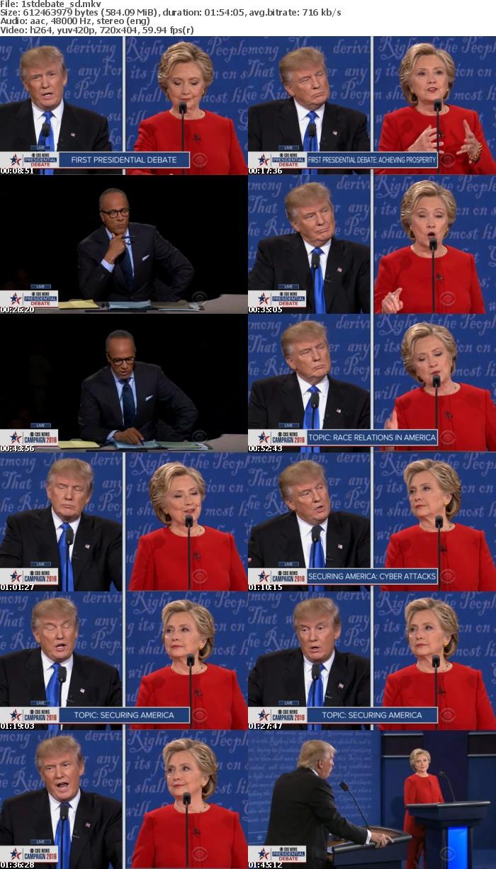 2016 US Presidential Debate 1 HDTV x264-WaLMaRT