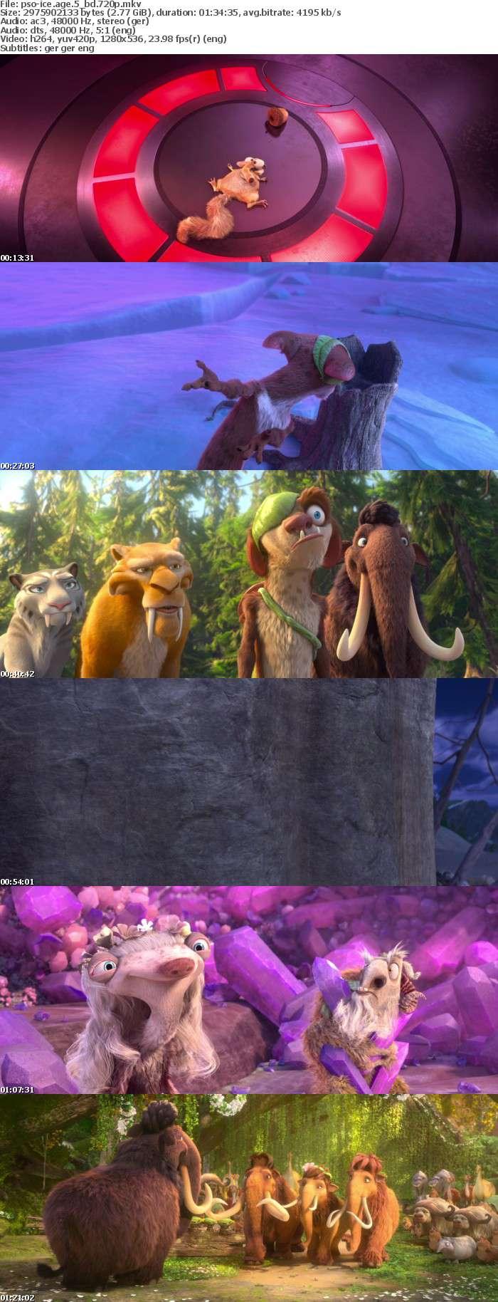 Ice Age Kollision voraus German DL AC3 Dubbed 720p BluRay x264-PsO
