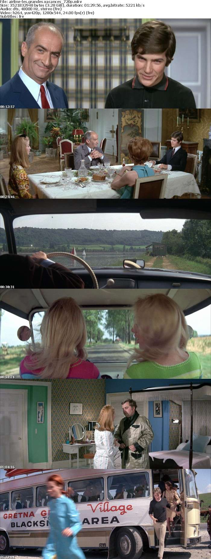 Les Grandes Vacances 1967 FRENCH 720p BluRay x264-AiRLiNE