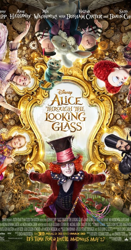 ALICE THROUGH THE LOOKING GLASS [2016]1080p BRRip[x265][HEVC][DTS-HD MA]INFERNO