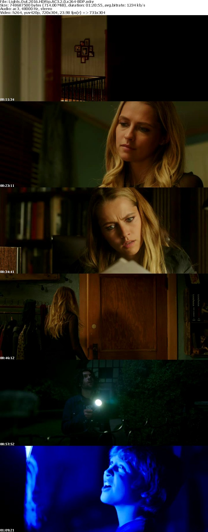 Lights Out 2016 HDRip AC3 2 0 x264-BDP