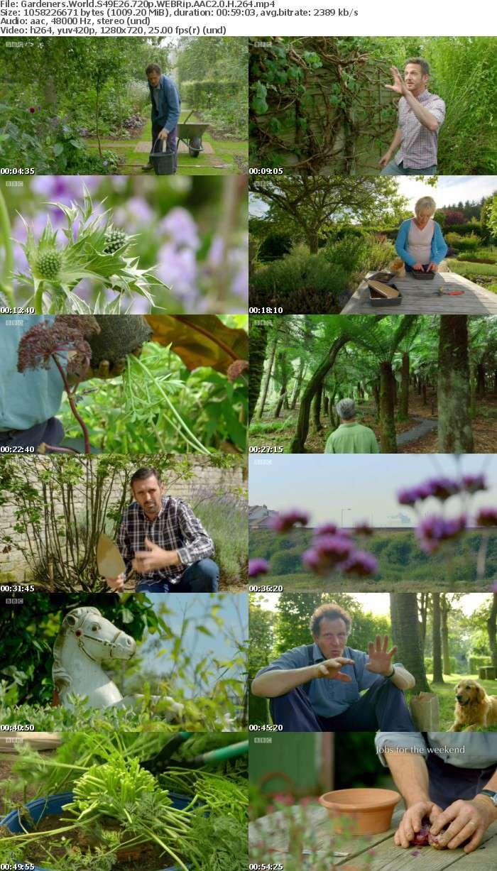 Gardeners World S49E26 720p WEBRip AAC2 0 H 264