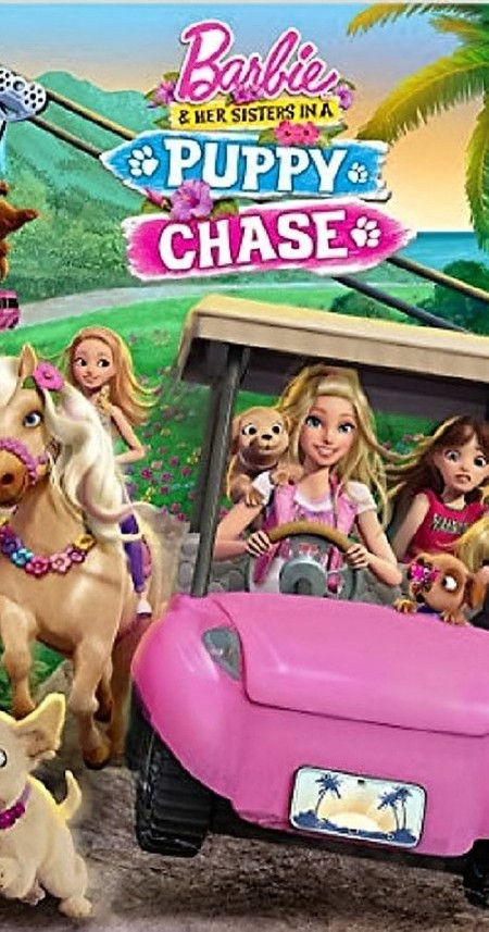 Barbie and Her Sisters in A Puppy Chas 2016 HDRip XviD AC3-EVO