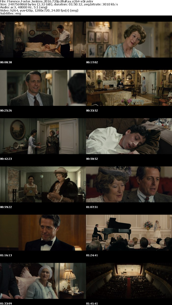 Florence Foster Jenkins 2016 720p BluRay x264-x0r