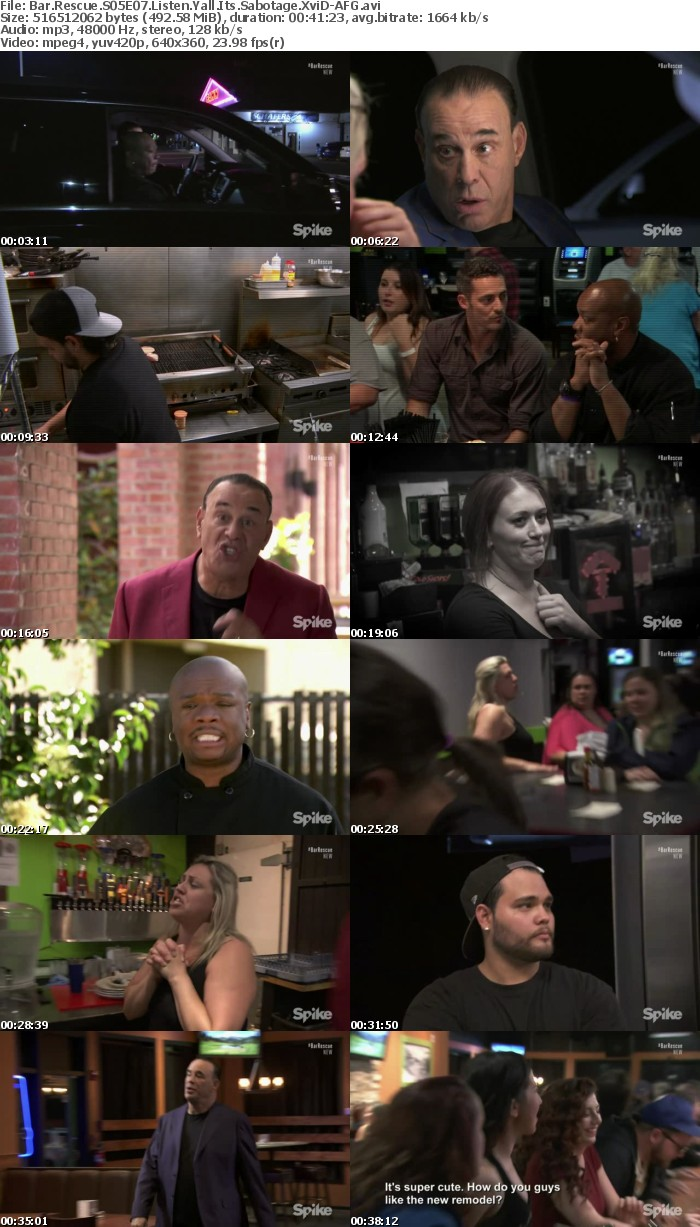 Bar Rescue S05E07 Listen Yall Its Sabotage XviD-AFG
