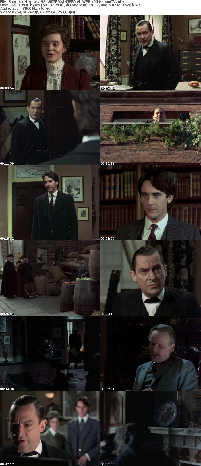 Sherlock Holmes 1984 S05E06 INTERNAL WEB x264-spamTV