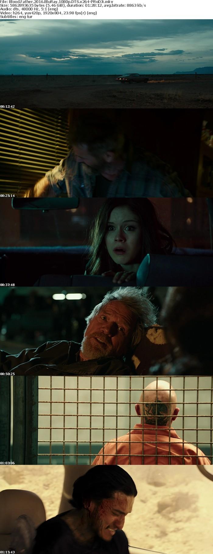 Blood Father 2016 BluRay 1080p DTS x264-PRoDJi