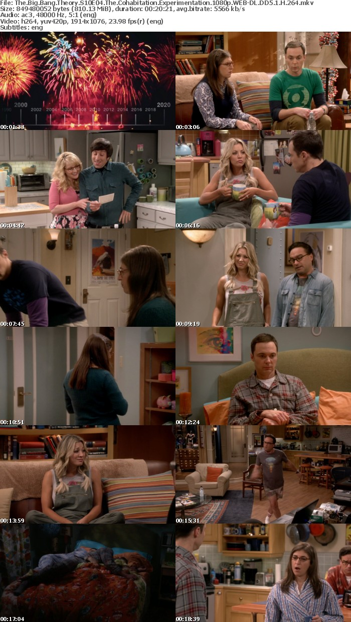 The Big Bang Theory S10E04 The Cohabitation Experimentation 1080p WEB DL DD5 1 H 264
