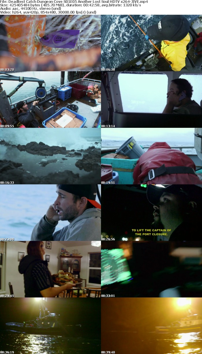 Deadliest Catch Dungeon Cove S01E05 Another Lost Soul HDTV x264 JIVE