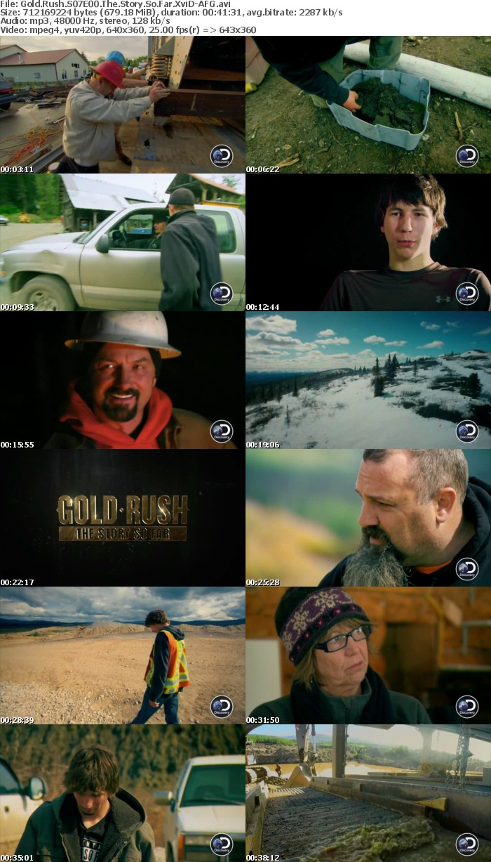 Gold Rush S07E00 The Story So Far XviD-AFG