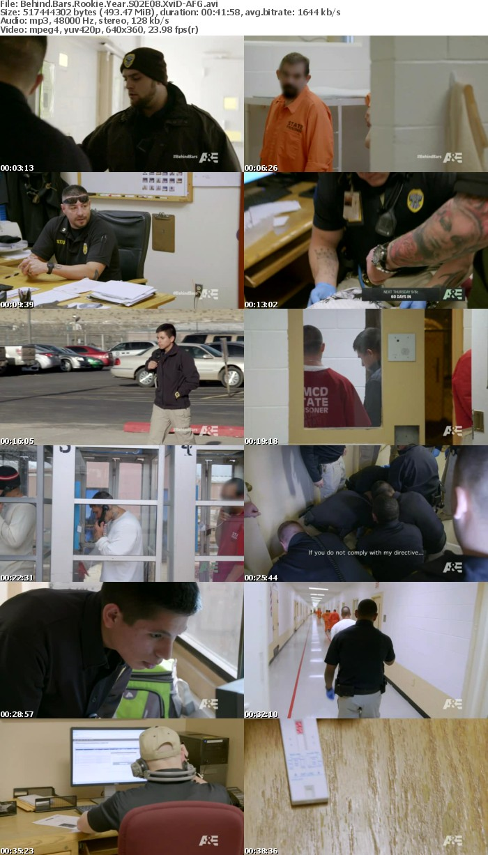 Behind Bars Rookie Year S02E08 XviD-AFG