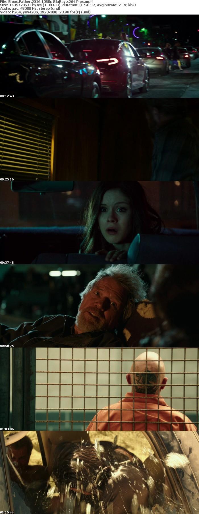 Blood Father 2016 1080p BluRay x264 Plex
