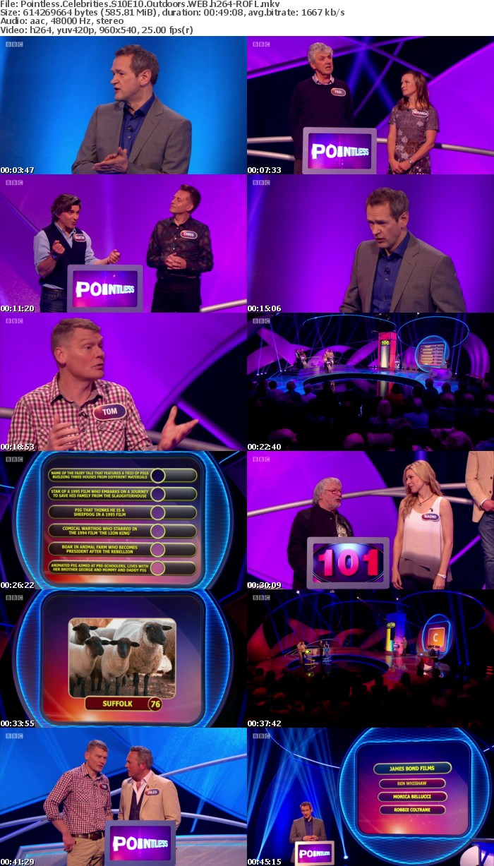 Pointless Celebrities S10E10 Outdoors WEB h264-ROFL