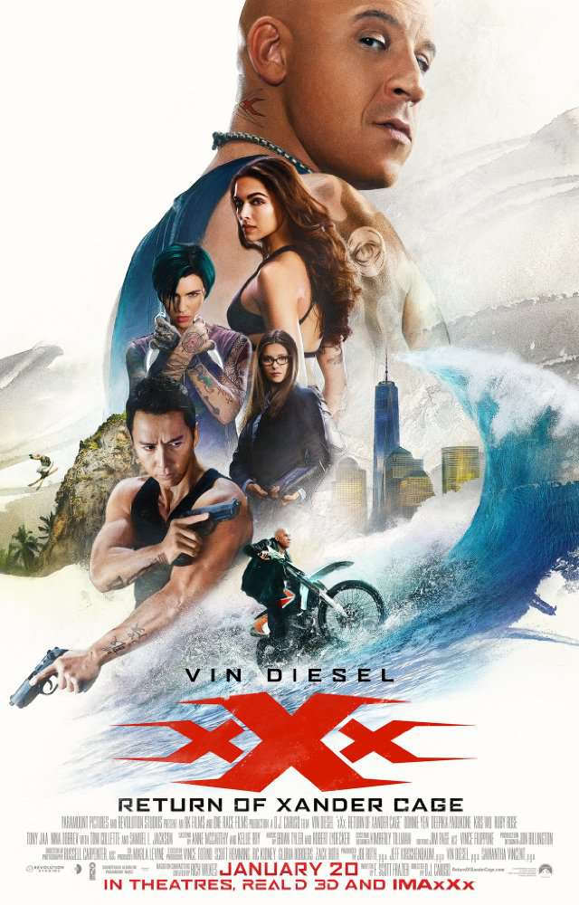 xXx Return of Xander Cage 2017 DVDRip XviD AC3iFTPRiME