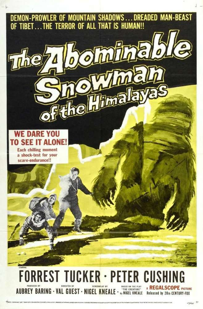 The Abominable Snowman 1957 DVDRip XViD