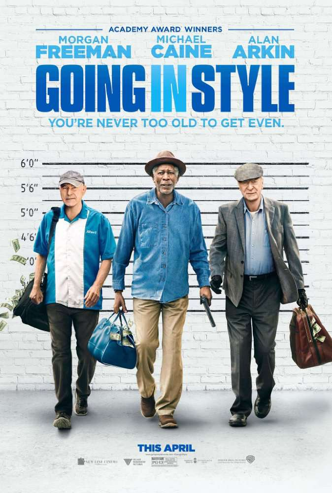 Going in Style 2017 BDRip x264DRONES