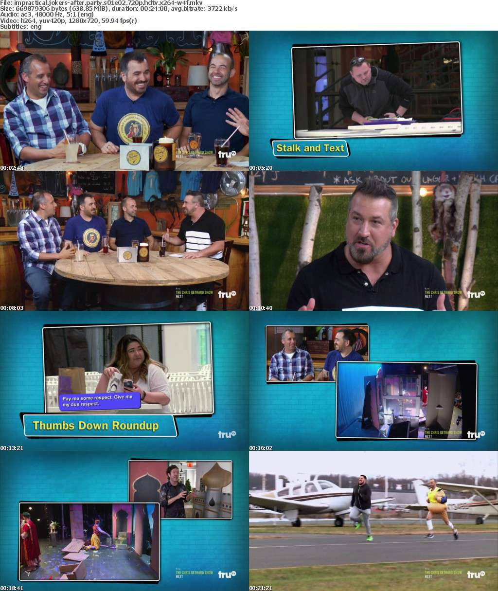 Impractical Jokers-After Party S01E02 720p HDTV x264-W4F