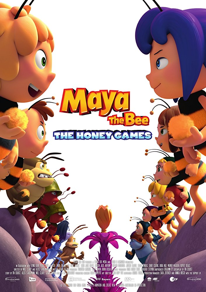 Maya the Bee 2 The Honey Games 2018 WEB-DL XviD AC3-FGT