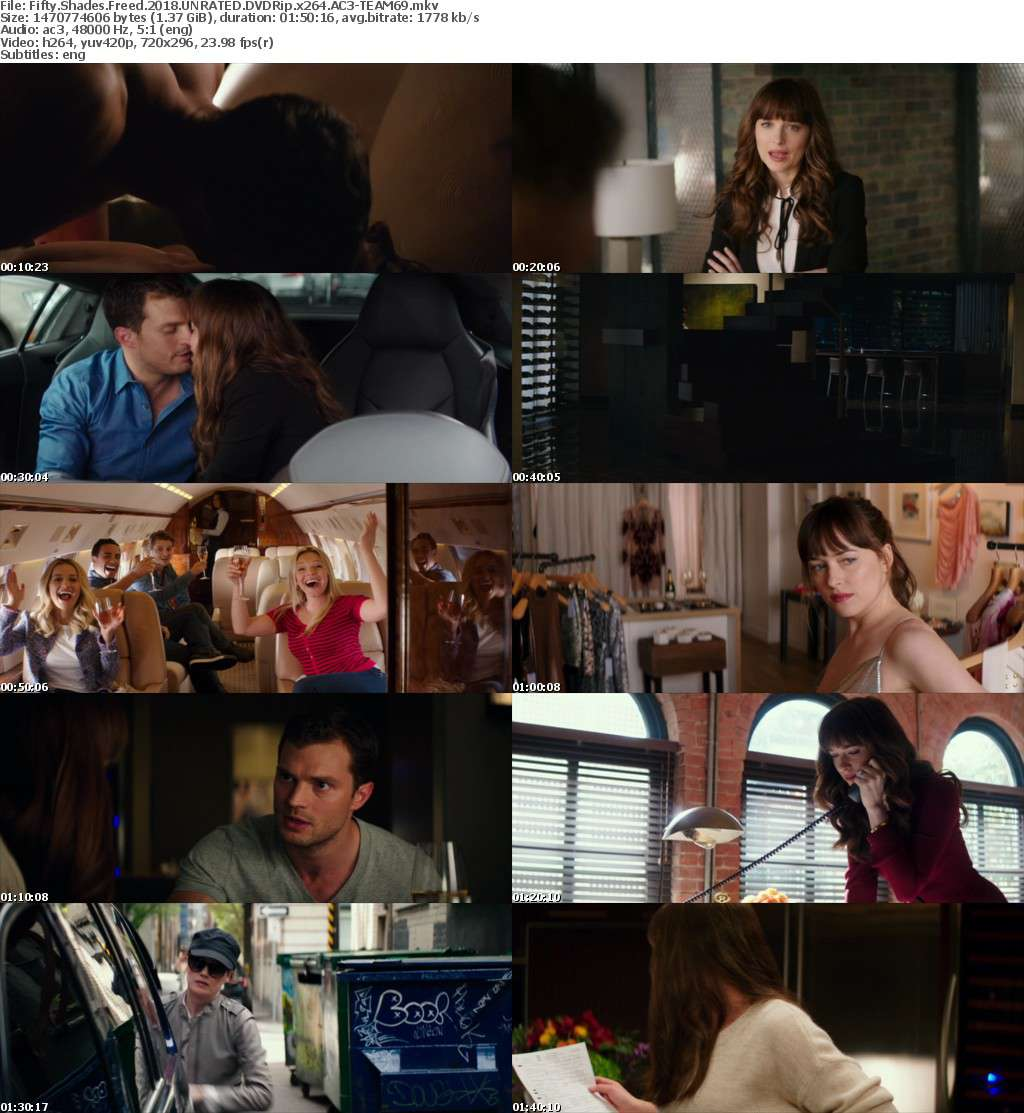Fifty Shades Freed 2018 UNRATED DVDRip x264 AC3-TEAM69