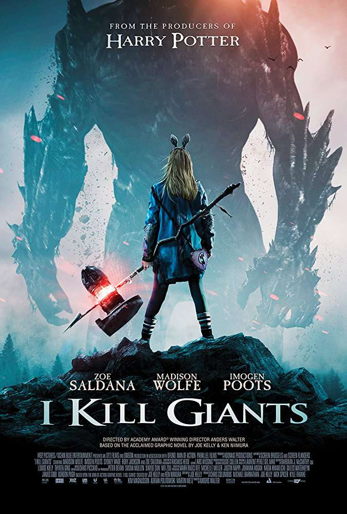 I Kill Giants 2017 BRRip XviD MP3-XVID