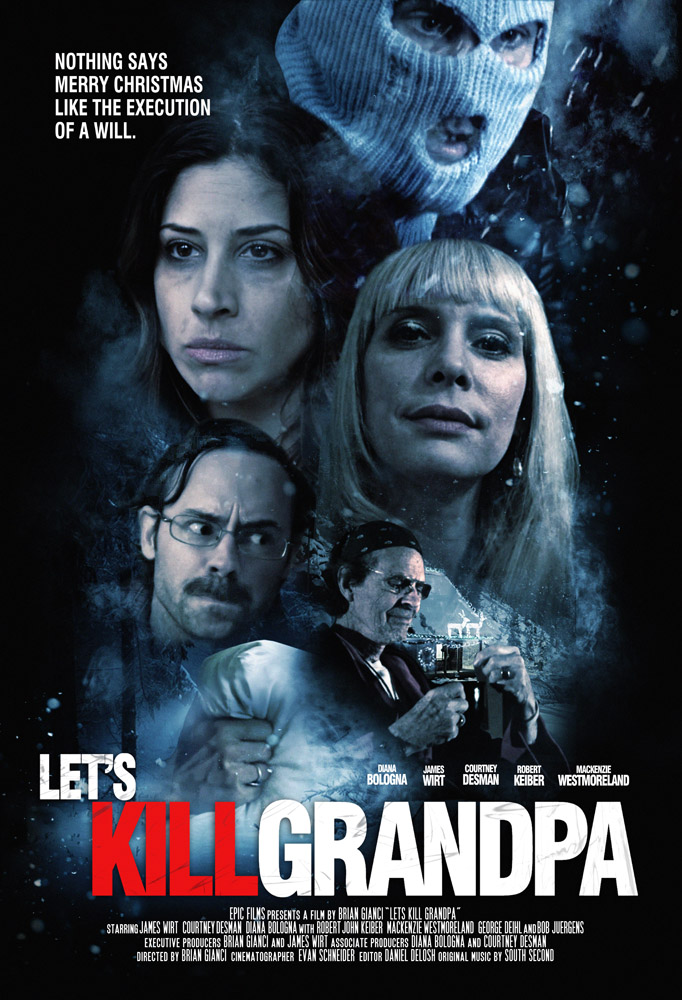 Lets Kill Grandpa 2017 Movies HDRip x264 AAC with Sample