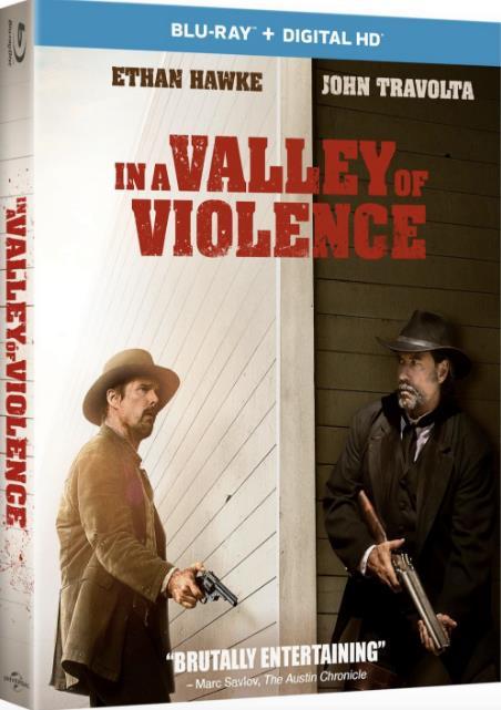 In a Valley of Violence (2016) 720p BluRay x264 Dual Audio Hindi DD 5.1 - English 2.0 ESub MW