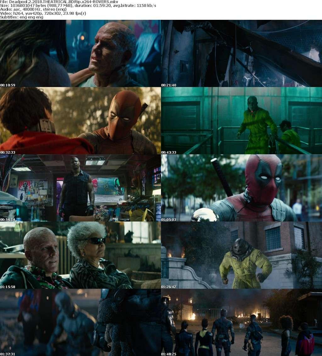 Deadpool 2 2018 THEATRICAL BDRip x264-ROVERS