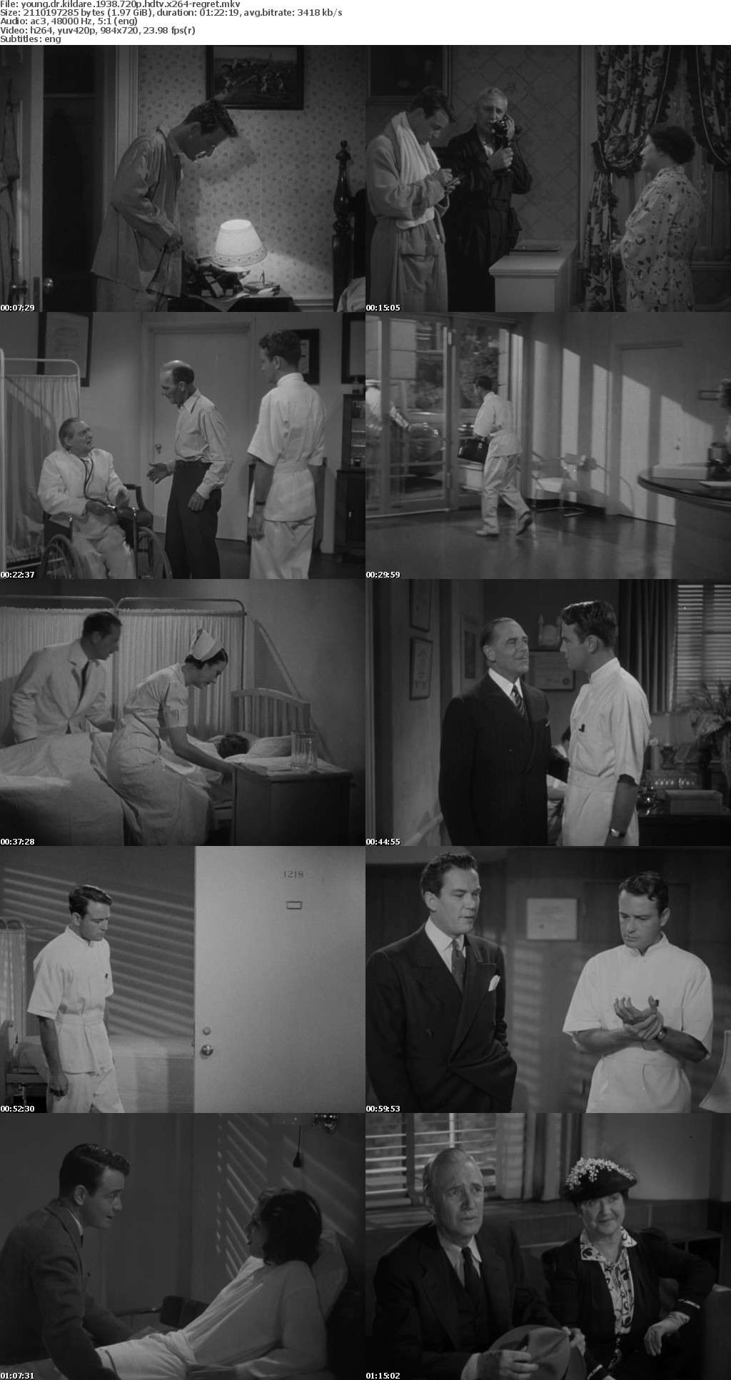 Young Dr Kildare 1938 720p HDTV x264-REGRET