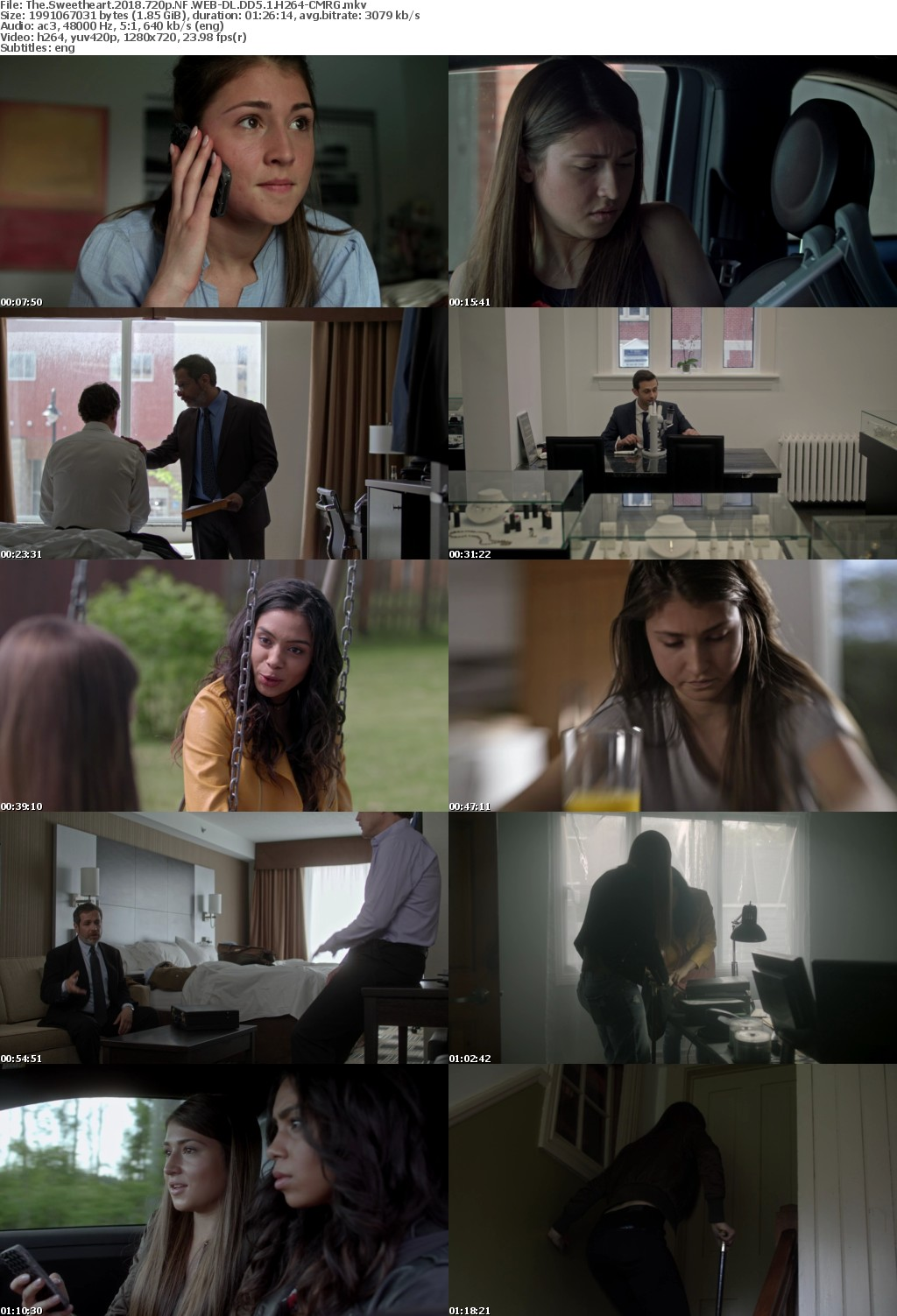 The Sweetheart (2018) 720p NF WEB-DL DD5.1 H264-CMRG