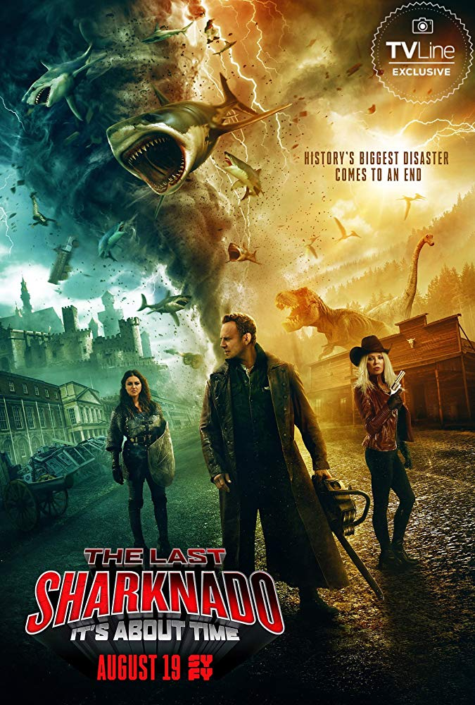 the last sharknado its about time (2018) BRRip AC3 X264-CMRG