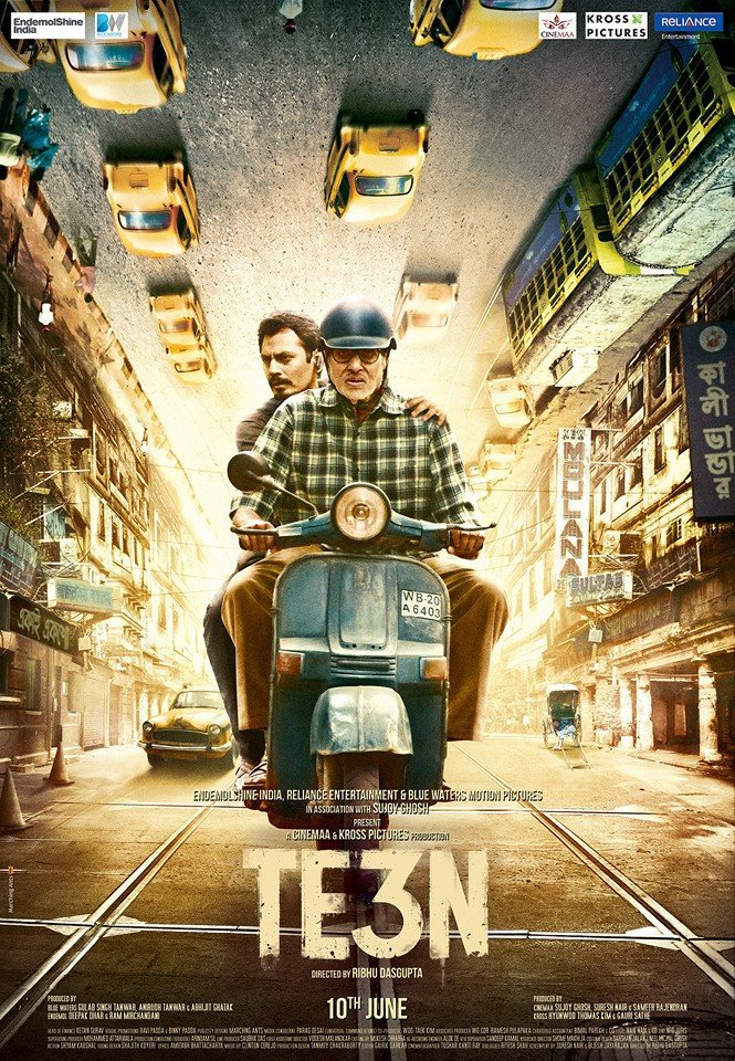 TE3N 2016 720p BRRip x264 Hindi AAC-ETRG