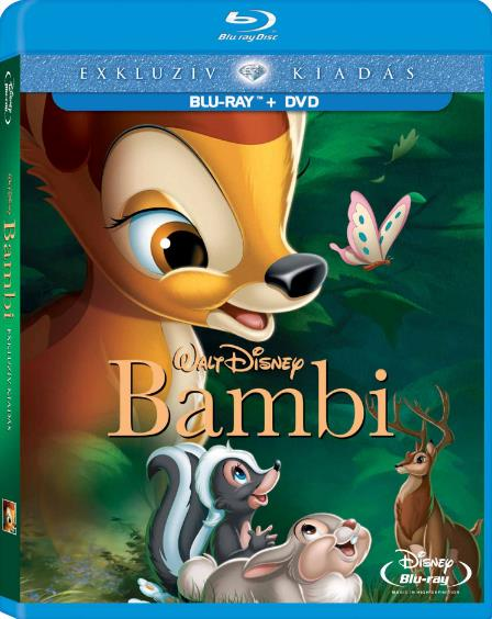 Bambi (1942) BRRip H264 italian english Ac3-5.1 sub ita-MIRCrew