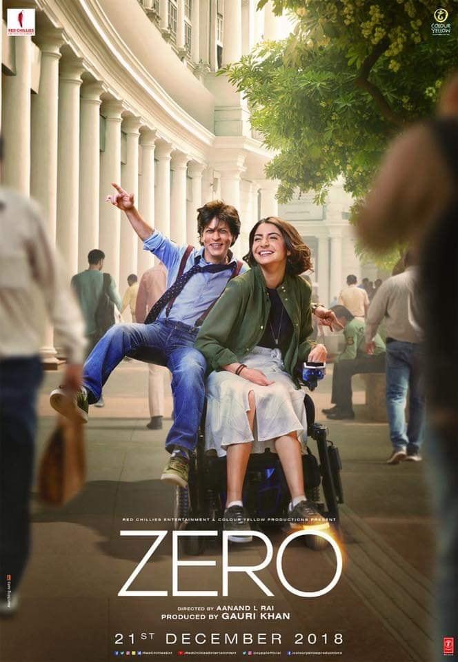 Zero 2018 Hindi 720p WEB-HD x264 DD 5 1 ESubs-Sun George