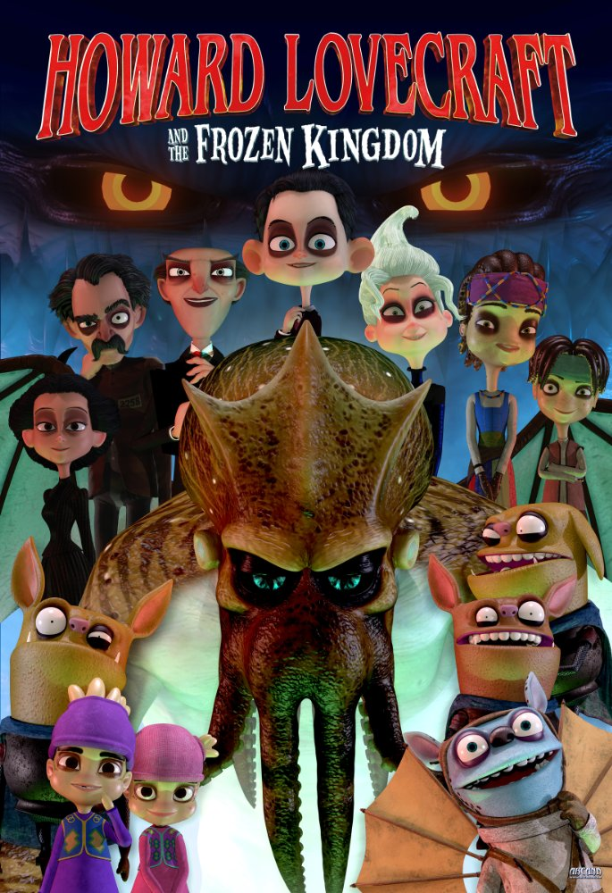 Howard Lovecraft and the Frozen Kingdom 2016 BRRip XviD MP3-XVID