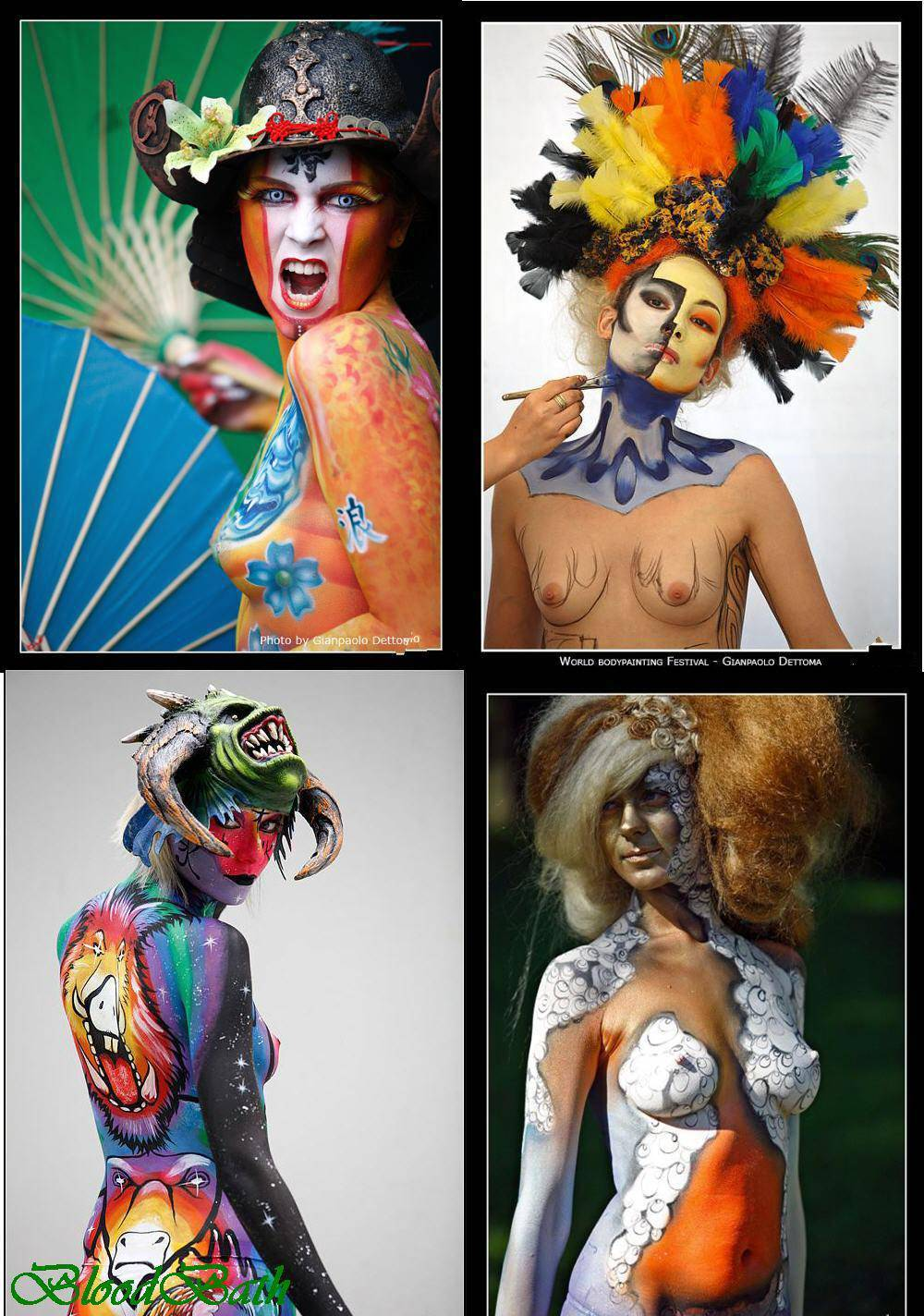 SHAREGO World Bodypainting Festival GREAT PICS preview 0