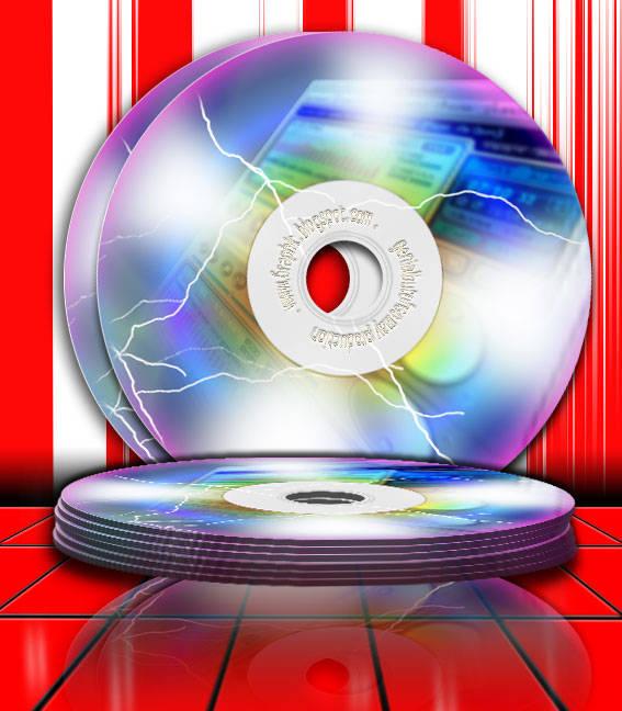 Cara membuat Kepingan CD