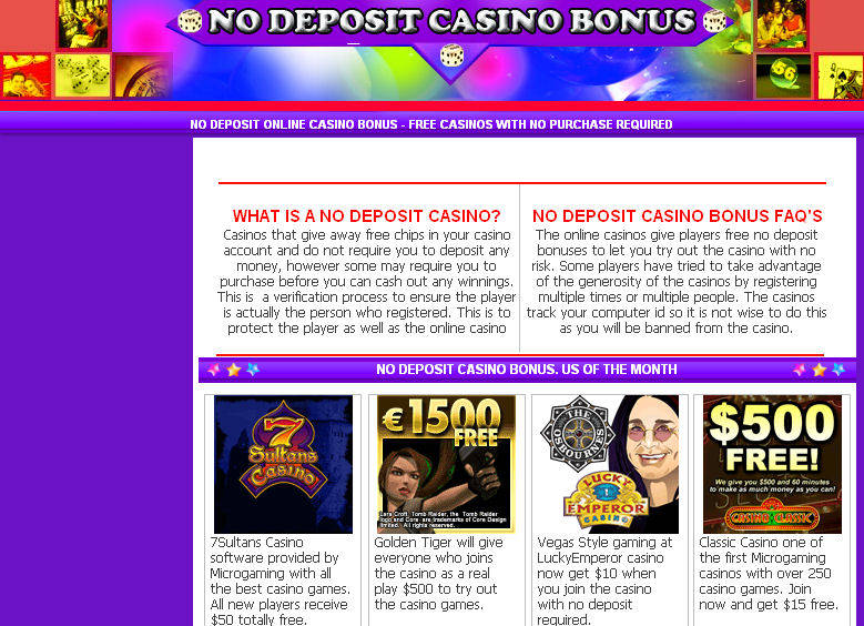 No deposit casino bonuses for the silver legacy hotel and casino