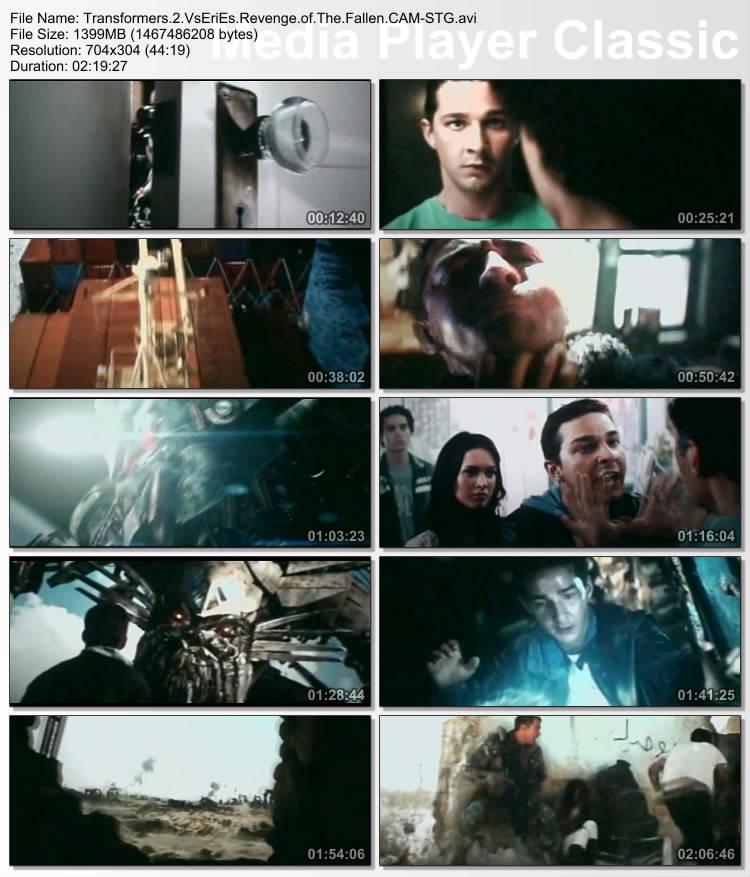 Transformers 2 Revenge Of The Fallen CAM XVID – STG