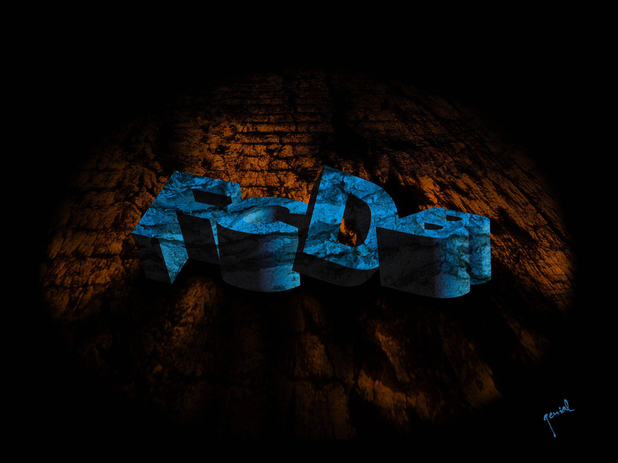 Photoshop 3D Text Image Galery