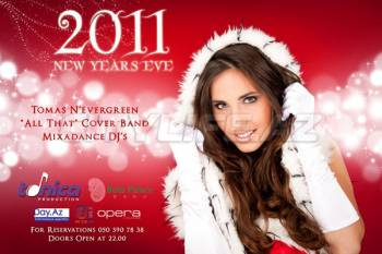 New Year's Eve Night with Tomas N'evergreen!