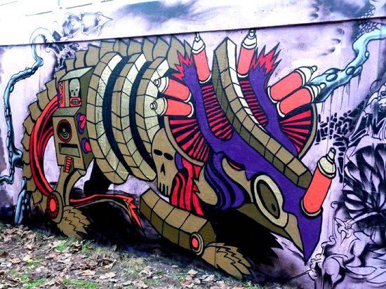 Graffiti - sztuka ulicy 24